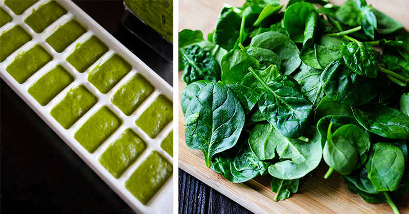 How to make your spinach last 20 times longer by FREEZING it