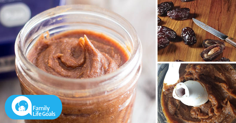 Replace refined sugar with this yummy date paste (Includes ginger, cinnamon and magnesium)
