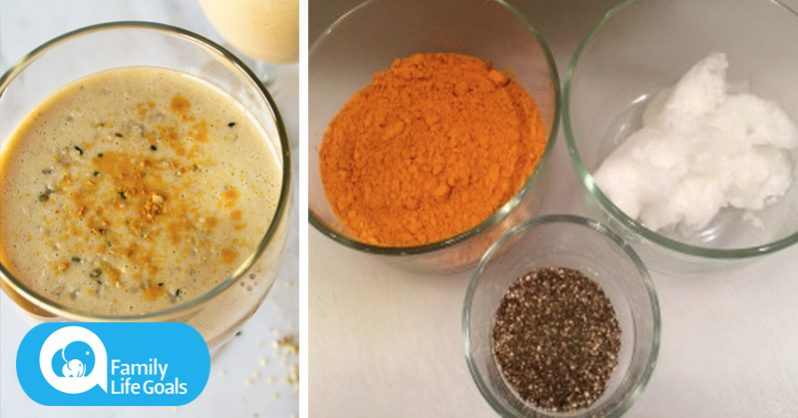 Image of Depression-BUSTING Smoothie Recipe With Turmeric and Coconut Oil (Works better than Prozac)
