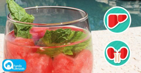 Image of Drink This 3-Ingredient Watermelon-ACV Alkalizing Tonic When You're Hot and Feel What Happens