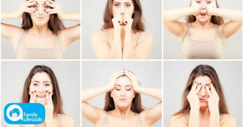 Image of 7 easy face exercises that will make you look YEARS younger in just minutes a day