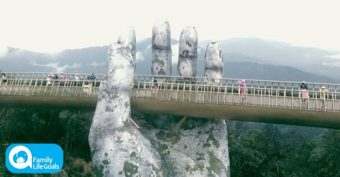 Image of Travel Guide: Incredible Vietnam Bridge Looks Like A Scene From 'Lord Of The Rings'