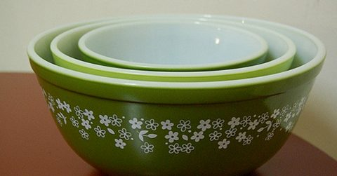 Image of Check your kitchen cabinet: Vintage Pyrex may be worth big bucks