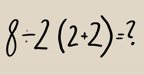 Image of Here's the Correct Answer to this Viral Math Problem That is Dividing the Internet