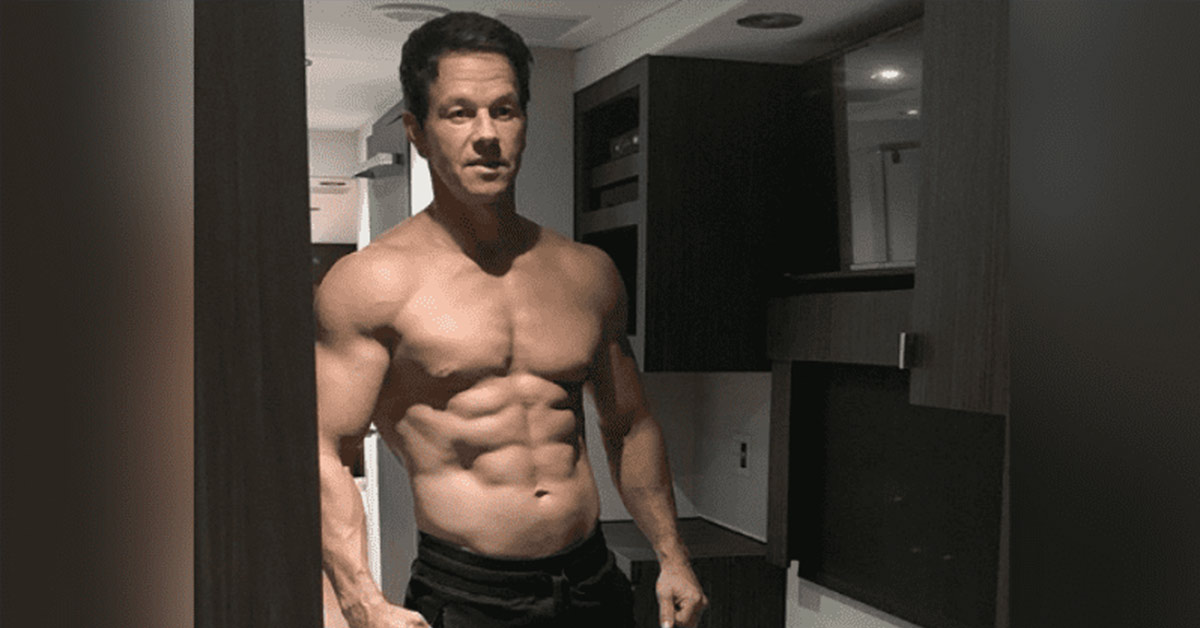 After A 45-Day Challenge, Mark Wahlberg Shows Off Insanely Chiseled Body