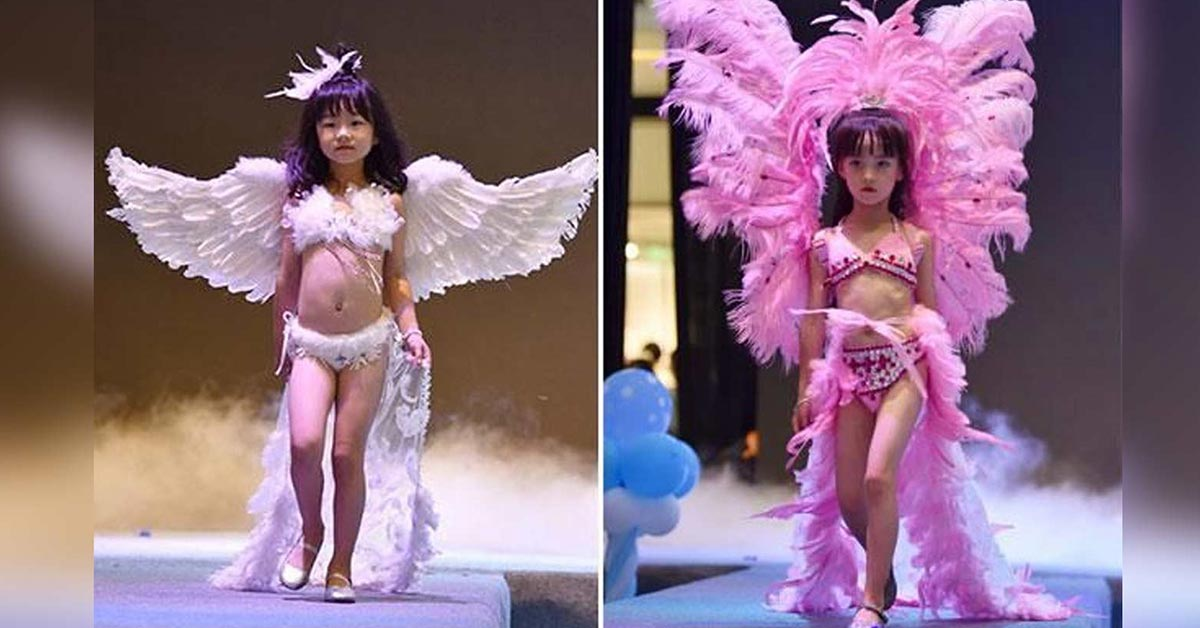 Could Mainstream Media Be Igniting Pedophilia With 'Victoria Secret' Lingerie For Five-Year-Old Girls?
