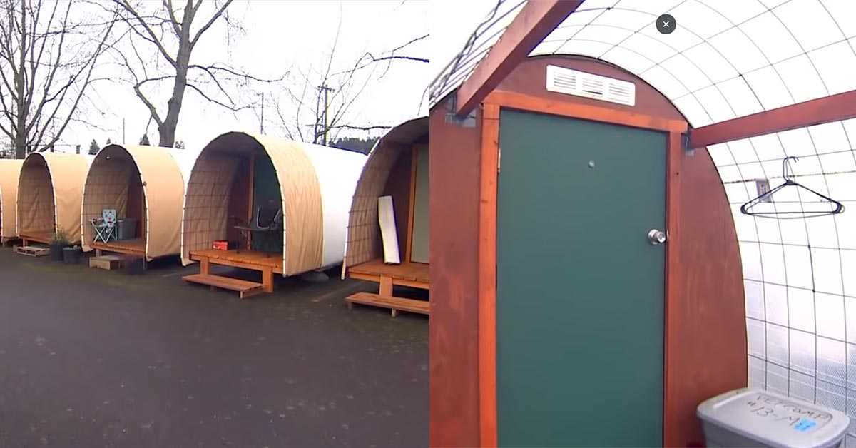 Huts For The Homeless Are Becoming More Popular In The Northwest
