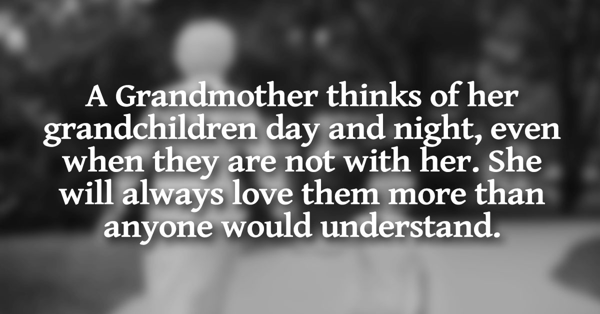 Grandmothers: They can't get enough of their grandkids