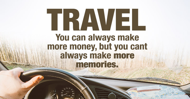 Travel More! 6 Reasons Why Spending Money On Traveling Actually Makes You Richer