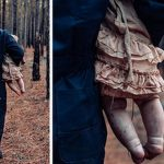 Mother Turns Her Baby into a Bloodthirsty ZOMBIE for A Gory Halloween Shoot