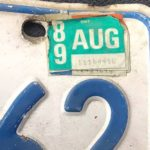 Cops pull over driver with license plates that expired 31 years ago