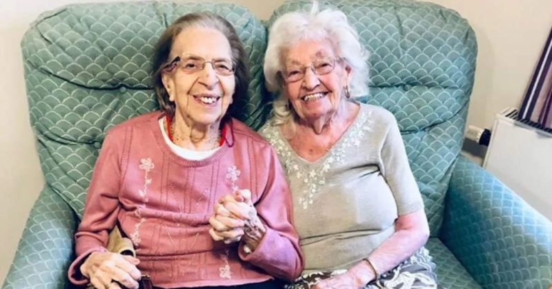 best friends in a nursing home together